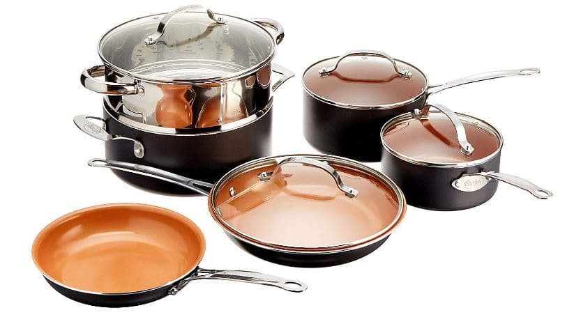 Gotham Steel 10-Piece Kitchen Set with Non-Stick Ti-Cerama Coating by Chef Daniel Green