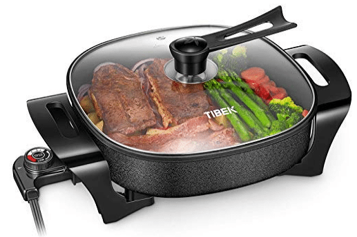 Tibek Electric Frying Pan