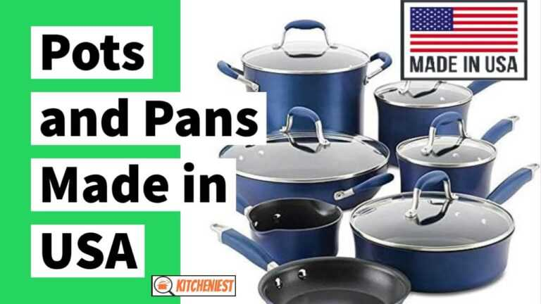 Pots and Pans made in USA