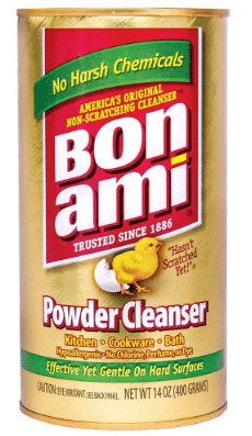 BON AMI Powder Cleanser for Kitchens & Bathrooms