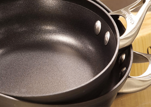 pans non stick coating