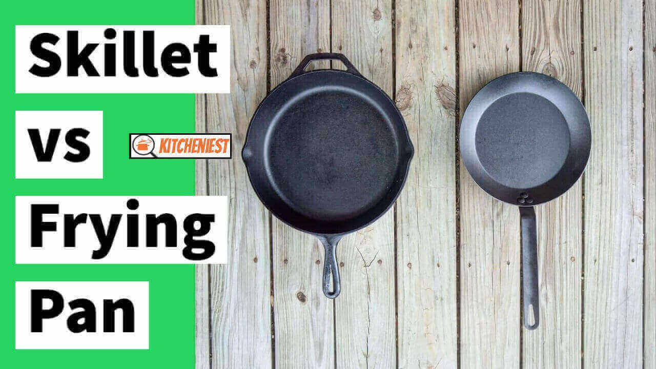 Skillet vs Frying Pan – What's the Difference & Which is Best?