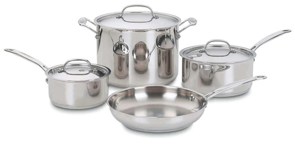 Cuisinart 7-Piece Cookware Set