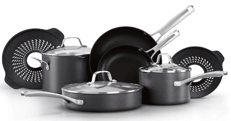 Calphalon Classic Nonstick 10 Piece Cookware Set reviews