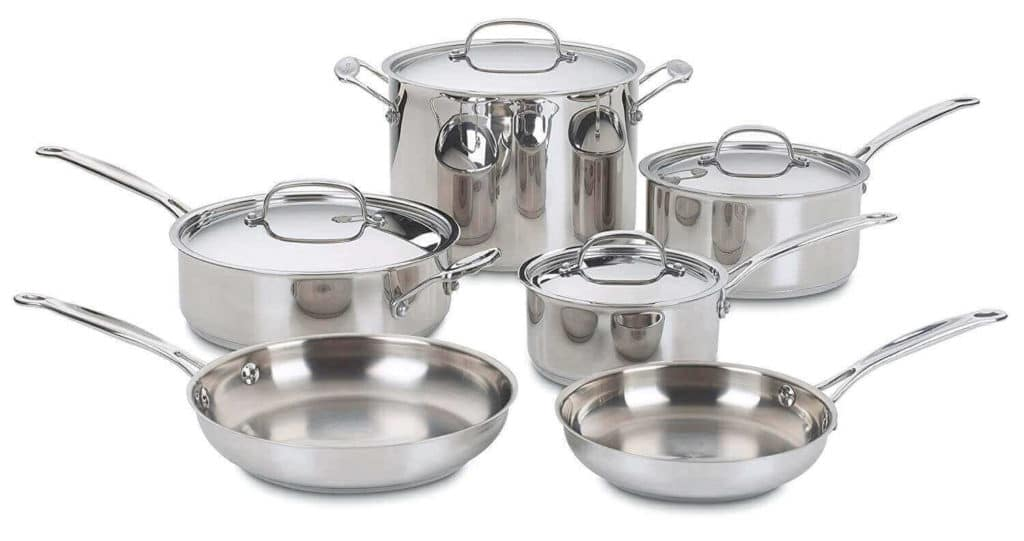 Cuisinart 10-Piece Cookware Set