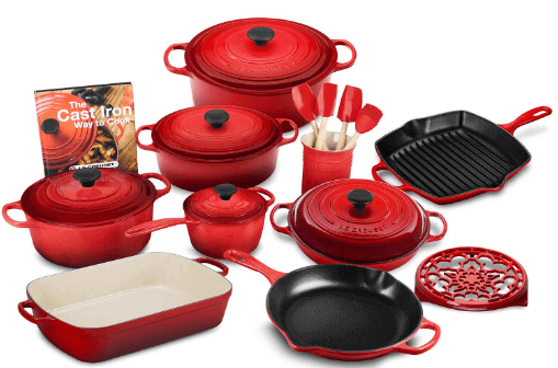 Le Creuset 20-piece Cookware review