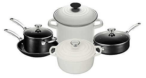 Review of Le Creuset 9-Piece Kitchen Starter Set