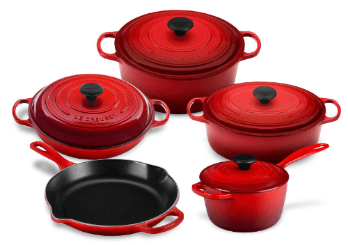 Review of Le Creuset 9-piece cookware