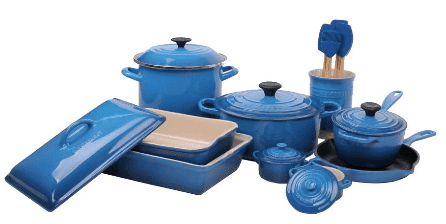 Le Creuset 17 Piece Cookware review