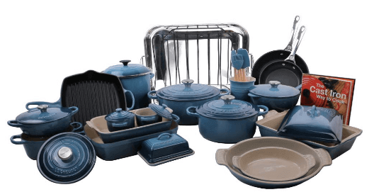Le Creuset 32 Piece Cookware review