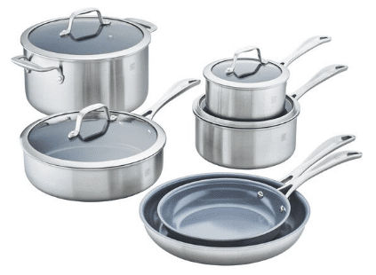 Zwilling 10-Pc Cookware Review