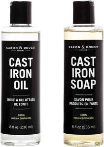 Caron & Doucet cast iron seasoning oil review