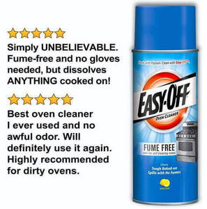 Easy-Off Fume Free Oven Cleaner Review