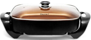 Caynel Professional Non-stick Copper Electric Skillet Review