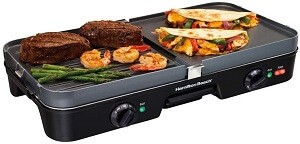 Hamilton Beach 3-in-1 Electric Indoor Grill + Griddle Review