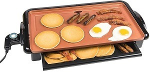 Nostalgia GD20C New and Improved Non-Stick Copper Griddle Review
