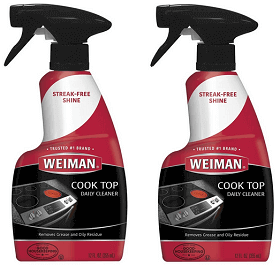 Weiman Ceramic & Glass Cooktop Cleaner Review