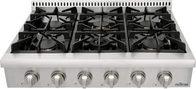 Thorkitchen Pro-Style Gas Rangetop Review