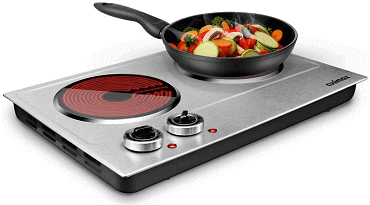 CUSIMAX Portable Glass Plate Electric Cooktop Review