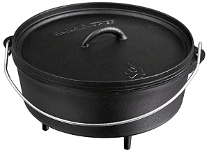 Camp Chef Classic Cast Iron Dutch Oven Review