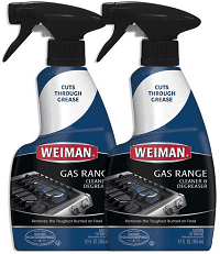 Gas Range Cook Top Cleaner and Degreaser