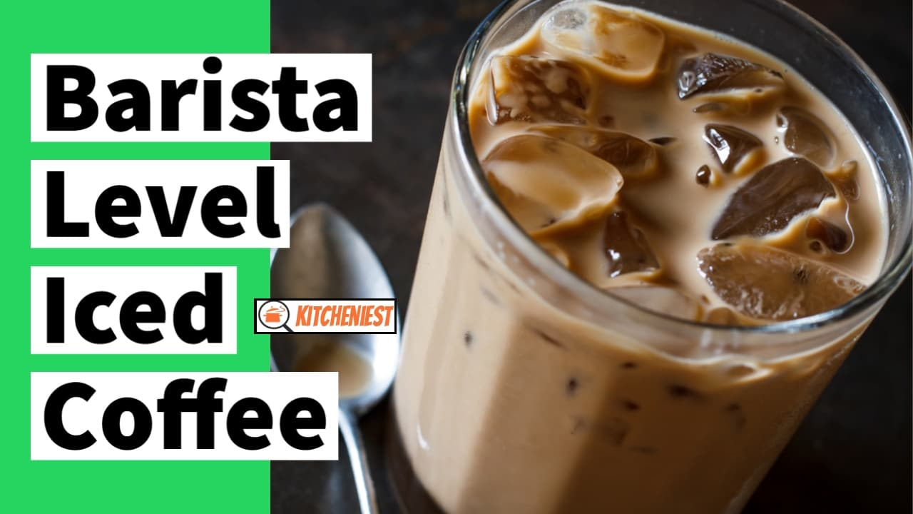 Barista-Level Iced Coffee at Home – Quick and Easy