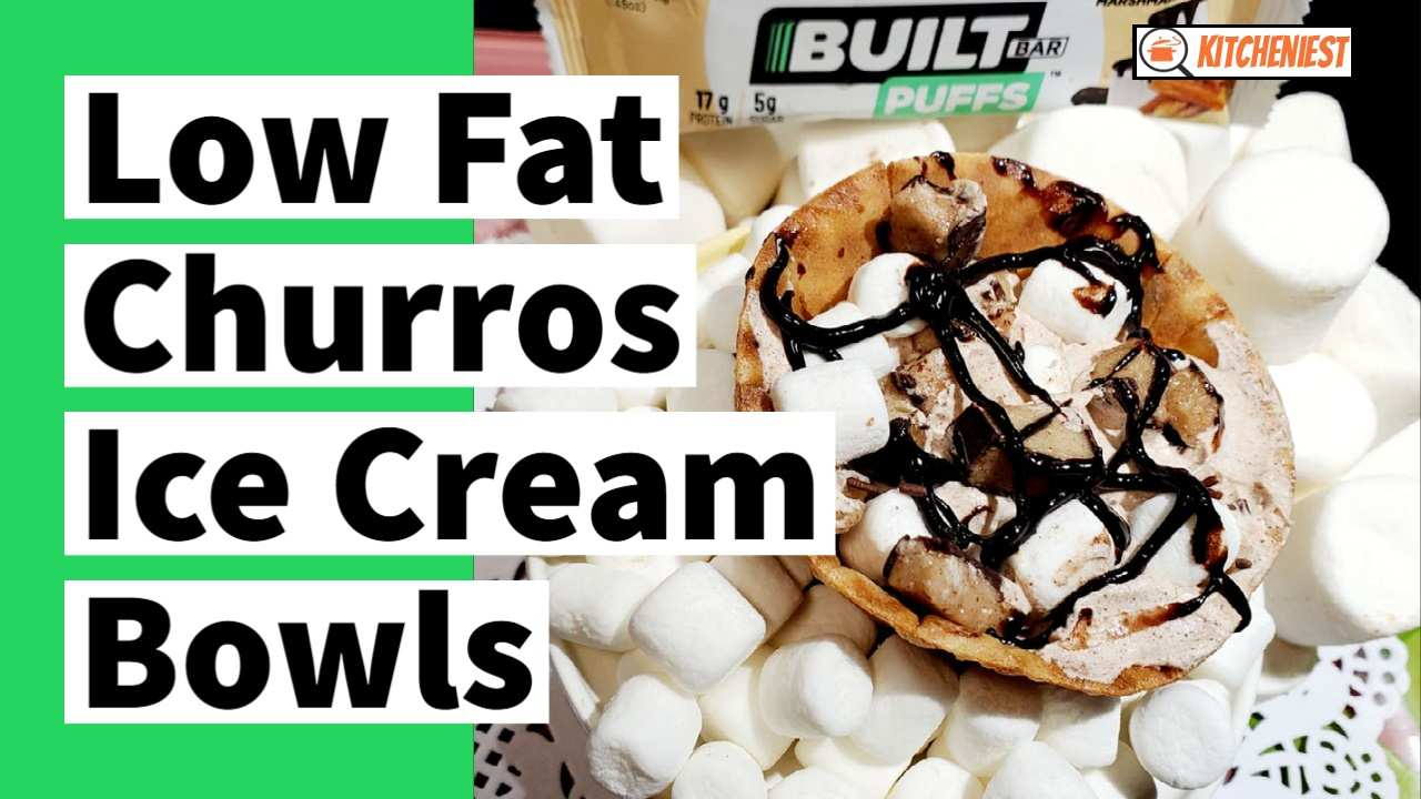 Low Fat Churros Ice Cream Bowls – Weight Watchers 4 SP