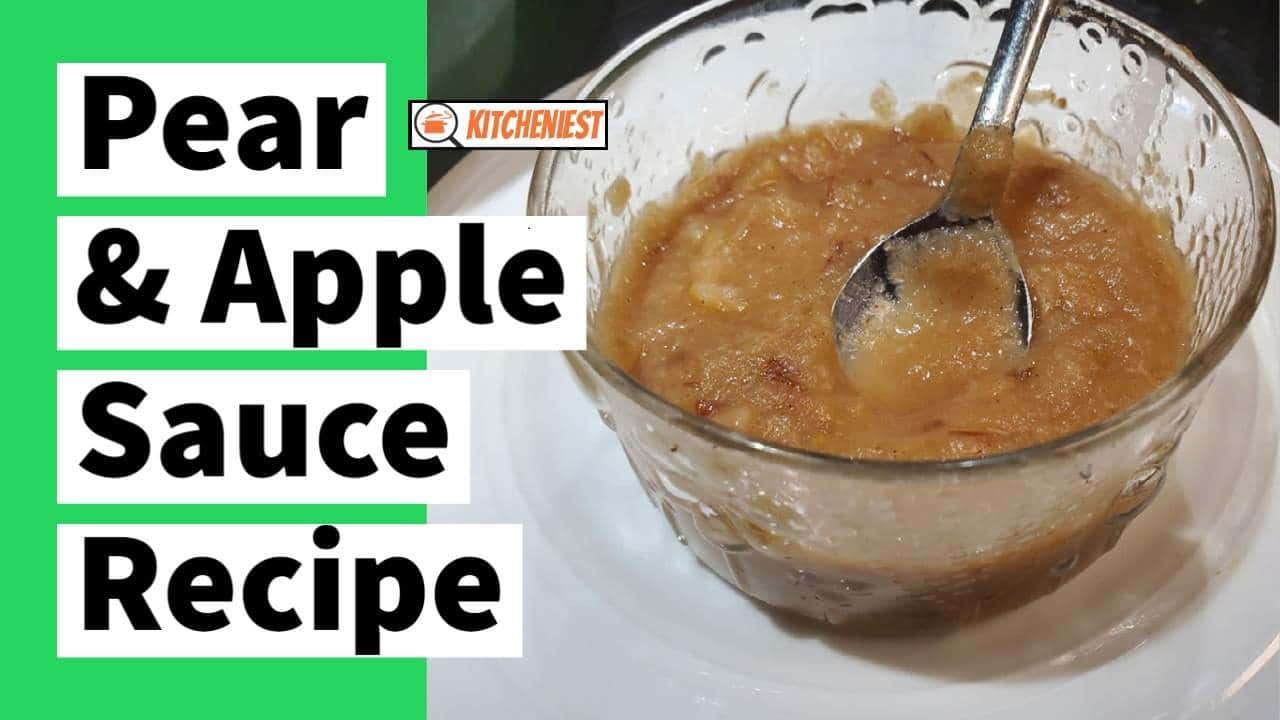 Homemade Pear & Apple Sauce Recipe By Risa – 0 SP on WW
