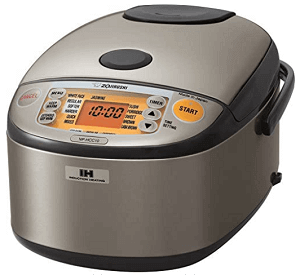 Zojirushi NP-HCC10XH Induction Heating System Rice Cooker Review