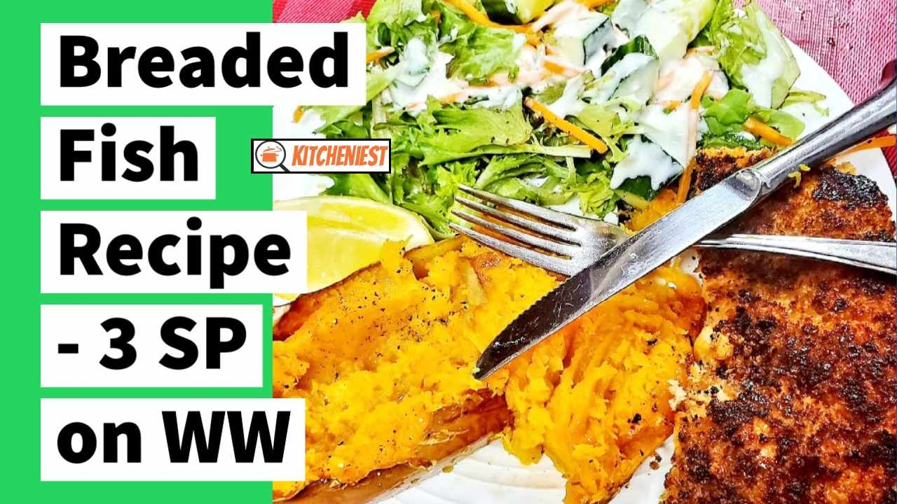 Healthiest Breaded Fish Recipe By Risa – 3 SP on WW