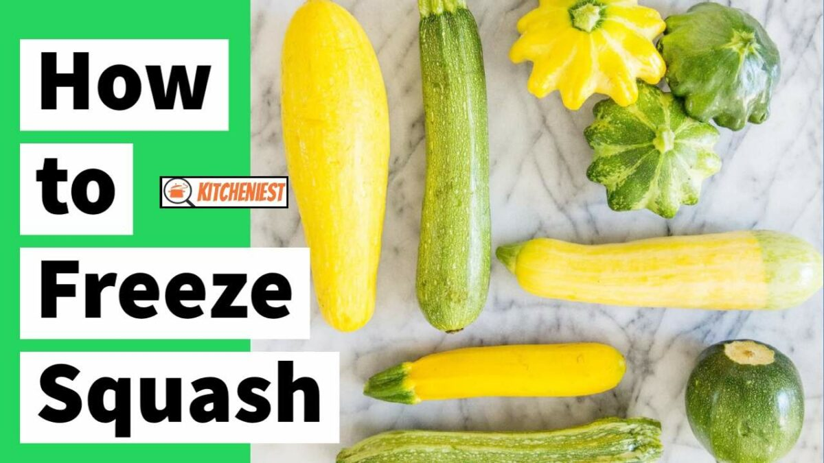 How to Freeze Squash? The A to Z Guide